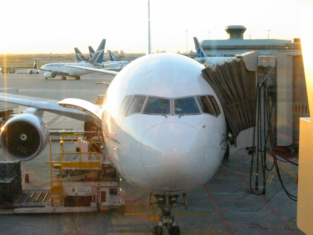 Abflug Toronto